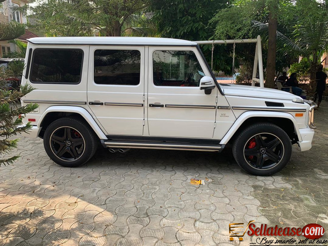 Nigerian used 2015 Mercedes Benz G wagon for sale in ...