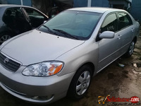 Tokunbo 2005 Toyota corolla LE for sale in Nigeria