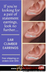 Designer Ear Climber Earrings Online at OROGEM