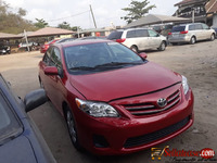 Tokunbo Toyota corolla 2013 for sale in Nigeria