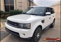 Tokunbo 2010 Range Rover sport HSE for sale in Nigeria