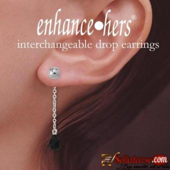 Designer Enhancer Earrings Online at OROGEM