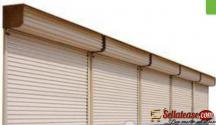 Galvanized Steel Automatic Rolling Shutter Door BY HIPHEN SOLUTIONS