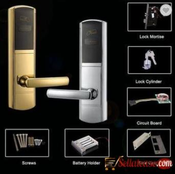 Classical Design RFID Hotel Room Keyless Door Lock BY HIPHEN SOLUTIONS
