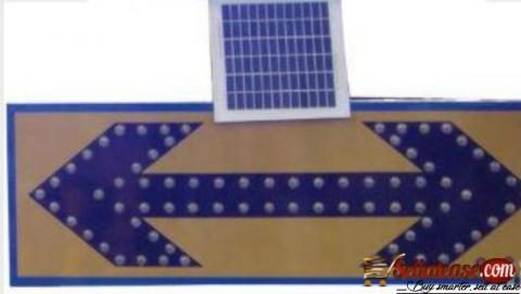 Solar LED Traffic Sign Board BY HIPHEN SOLUTIONS