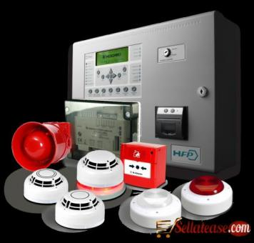 WIRELESS AND WIRED SMOKE DETECTION AND FIRE ALARM SYSTEM BY EZILIFE