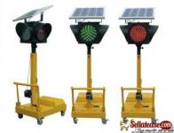 Red Or Green Solar Single Tube Traffic Light BY HIPHEN SOLUTIONS