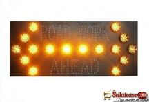 Road Works Guide Sign Solar Traffic Signal BY HIPHEN SOLUTIONS