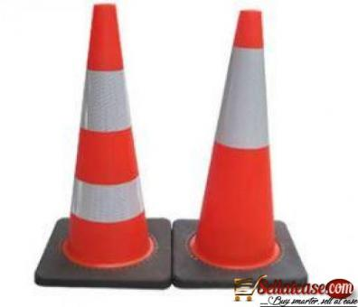 Traffic Orange Color Cone BY HIPHEN SOLUTIONS