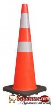 Rubber Base Plastic Traffic Cone BY HIPHEN SOLUTIONS