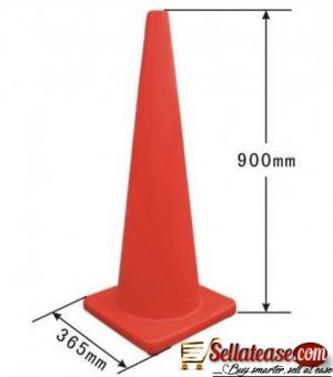 """36"""" Orange PVC Traffic Cone BY HIPHEN SOLUTIONS"""