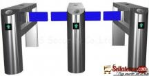 Electronic Automatic Swing Barrier Gate Turnstiles BY HIPHEN SOLUTIONS