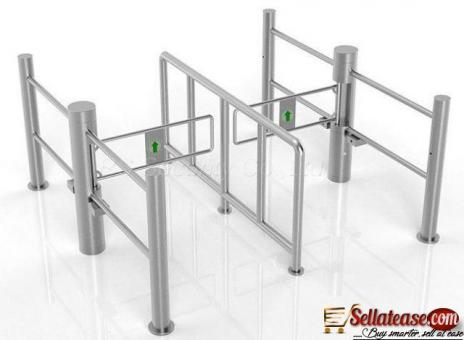 Secured Entry Control Fast Speed Gate by HIPHEN SOLUTIONS