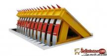 Retractable Barrier Gate Automatic Folding Hydraulic Road Blocker BY HIPHEN SOLUTIONS