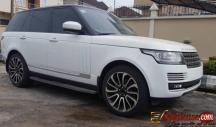 Tokunbo 2016 Range Rover vogue for sale in Lagos Nigeria