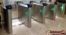 Security Sliding Speed Gates Turnstile BY HIPHEN SOLUTIONS