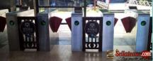 Flap Barrier Gate Crowed Control Flap Turnstile BY HIPHEN SOLUTIONS