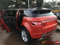 Tokunbo 2013 Range Rover Evoque for sale in Nigeria