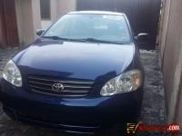 Tokunbo Toyota corolla 2003 for sale in Nigeria