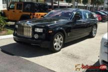 Tokunbo 2010 Rolls Royce phantom for sale in Nigeria