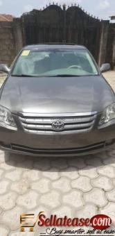 Tokunbo 2007 Toyota Avalon for sale in Nigeria