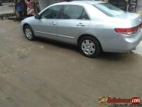 Tokunbo 2004 Honda accord end of discussion for sale in Nigeria