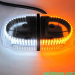 Dual Color Amber & White 240-LED Snow Plow Safety Strobe Light Warning Emergency