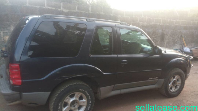 2002 Ford Explorer 2 Doors Suv Sell At Ease Online