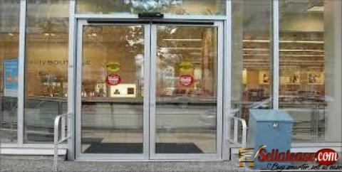 Automated Hotel Entrance Door By EZILIFE
