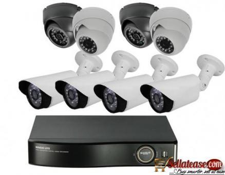 HD Analog Bullet CCTV Camera By EZILIFE