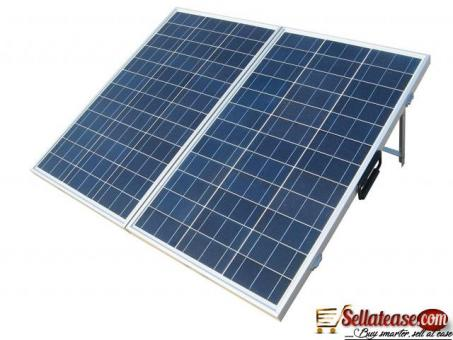 SOLAR POWER PANEL SYSTEM BY EZILIFE