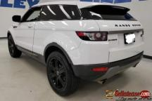 2012 Range Rover Evoque Nigerian used for sale