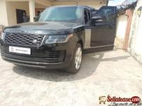 2019 bulletproof Range Rover autobiography for sale in Nigeria