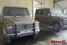 2011 Mercedes Benz bulletproof G55 AMG for sale in Nigeria