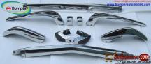 BMW 2002 bumper long type (1971-1976) by stainless steel