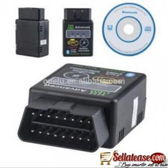 2 IN 1 HH OBD II CAR SCANNER WITH CD for sale in Nigeria