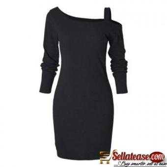 Long Sleeve Slim Knit Dress for sale in Nigeria