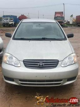 Tokunbo 2004 Toyota Corolla for sale in Nigeria