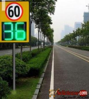 Solar Powered Speed Sign BY HIPHEN SOLUTIONS