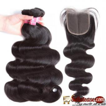 Wholesale Unprocessed Mink Hair Extensions 100% Human Hair Weave Bundles