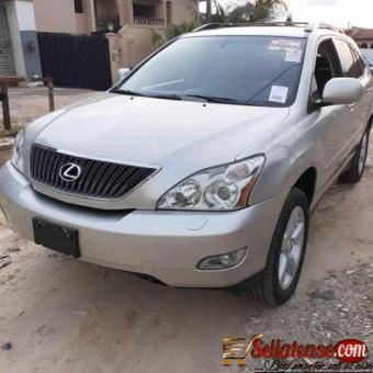 Tokunbo 2005 Lexus RX330 full option for sale in Nigeria