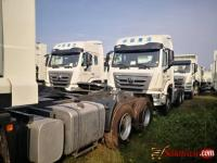 Foreign used Howo Sino trucks for sale in Nigeria