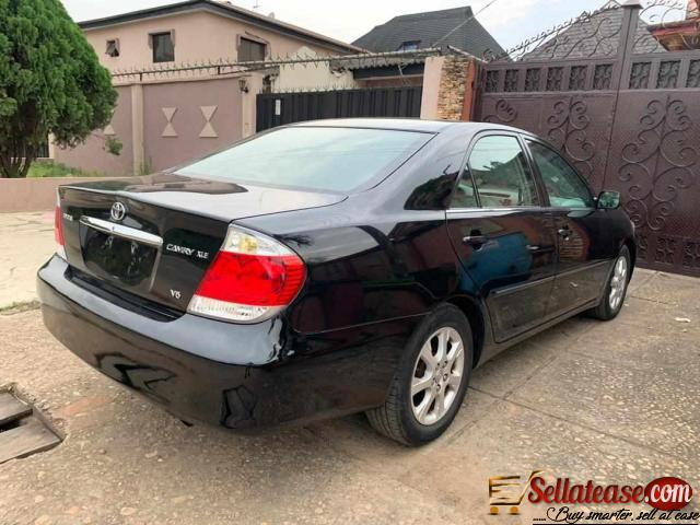 price of tokunbo toyota camry big daddy
