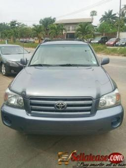 Tokunbo 2006 Toyota Highlander for sale in Nigeria