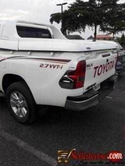 Nigerian used 2019 Toyota Hilux for sale in Nigeria