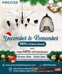 Precise Lighting Christmas Sale | Save Upto 40% Till 24th Dec