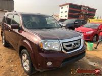 Tokunbo Honda Pilot 2011 Full option for sale in Nigeria