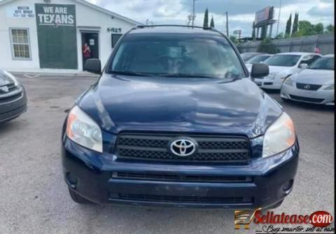 Tokunbo 2007 Toyota RAV4 for sale in Nigeria