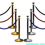 Crowd Control Stanchion Queue Barrier Post in Nigeria