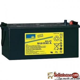 12V/230A Exide/ Sonnenschein Solar Deep Cycle Batteries